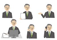 ビジネス 中年男性 10447000281  写真素材・ストックフォト・画像・イラスト素材 アマナイメージズ