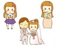 女性の人生 高校時代と結婚と出産 10483000019  写真素材・ストックフォト・画像・イラスト素材 アマナイメージズ