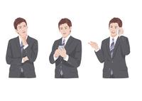 スマートフォンで仕事をする男性 10688000007| 写真素材・ストックフォト・画像・イラスト素材|アマナイメージズ
