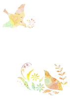 花と鳥 10690000003| 写真素材・ストックフォト・画像・イラスト素材|アマナイメージズ
