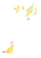 花と鳥 10690000005| 写真素材・ストックフォト・画像・イラスト素材|アマナイメージズ