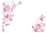 花と鳥 10690000009| 写真素材・ストックフォト・画像・イラスト素材|アマナイメージズ