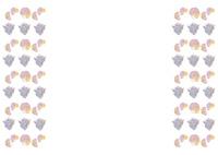 夏パターン・貝殻 10690000015| 写真素材・ストックフォト・画像・イラスト素材|アマナイメージズ
