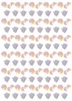夏パターン・貝殻 10690000023| 写真素材・ストックフォト・画像・イラスト素材|アマナイメージズ