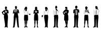 シルエット人物のビジネスイメージ 10768000018| 写真素材・ストックフォト・画像・イラスト素材|アマナイメージズ