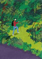 ジャングルの中を探検する男性 10928000075| 写真素材・ストックフォト・画像・イラスト素材|アマナイメージズ