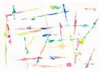水彩の抽象的な模様のパターン 10928000184| 写真素材・ストックフォト・画像・イラスト素材|アマナイメージズ