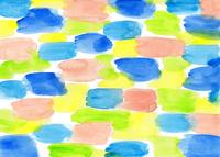 水彩にじみ模様のパターン 10928000193| 写真素材・ストックフォト・画像・イラスト素材|アマナイメージズ