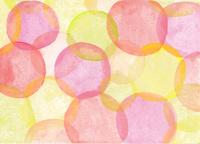 水彩の水玉模様のパターン 10928000195| 写真素材・ストックフォト・画像・イラスト素材|アマナイメージズ