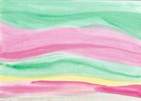 水彩にじみのボーダーパターン 10928000196| 写真素材・ストックフォト・画像・イラスト素材|アマナイメージズ