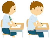 授業中の中学生 11002055107  写真素材・ストックフォト・画像・イラスト素材 アマナイメージズ