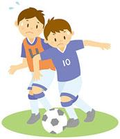 サッカーをする男子中学生 11002055112  写真素材・ストックフォト・画像・イラスト素材 アマナイメージズ