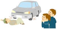 交通安全教室で事故の再現を見る中学生 11002055130  写真素材・ストックフォト・画像・イラスト素材 アマナイメージズ