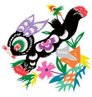 Illustration of a rabbit with vibrant color 11010044526| 写真素材・ストックフォト・画像・イラスト素材|アマナイメージズ