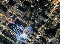 Aerial view from helicopter of Midtown, New York, USA 11015295365| 写真素材・ストックフォト・画像・イラスト素材|アマナイメージズ