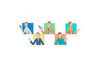 ビジネスをする人々 クラフト 11017000541| 写真素材・ストックフォト・画像・イラスト素材|アマナイメージズ