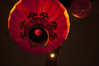 Red Chinese lanterns, Traditional Wedding Decor, Toronto, Ontario, Canada