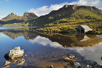 Cradle Mountain and Dove Lake, Cradle Mountain-Lake St Clair National Park, UNESCO World Heritage Area, Tasmania, Australia 11030050087| 写真素材・ストックフォト・画像・イラスト素材|アマナイメージズ