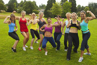 Group of Women Working-Out, Portland, Multnomah County, Oregon, USA
