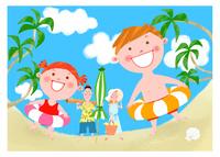 楽しい夏休み 11067000293| 写真素材・ストックフォト・画像・イラスト素材|アマナイメージズ