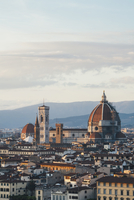 The Duomo, the roof of the cathedral and historical landmarks of Florence city seen from a height. 11093015748| 写真素材・ストックフォト・画像・イラスト素材|アマナイメージズ
