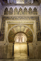 Carved arch way in Alhambra Palace 11100050160| 写真素材・ストックフォト・画像・イラスト素材|アマナイメージズ