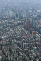 View over Taipeh from the 101 Tower, Taipeh, Taiwan