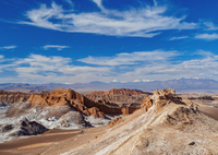 Valle de la Luna (Valley of the Moon), near San Pedro de Atacama, Atacama Desert, Antofagasta Region, Chile, South America 11104028450| 写真素材・ストックフォト・画像・イラスト素材|アマナイメージズ