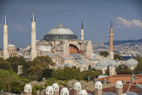 Turkey, Istanbul, Haghia Sophia, - Aya Sofya Mosque, Once a church, later a mosque, and now a museum 11108003645| 写真素材・ストックフォト・画像・イラスト素材|アマナイメージズ