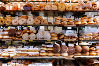 Full Frame Shot Of Donuts For Sale In Store 11115034219| 写真素材・ストックフォト・画像・イラスト素材|アマナイメージズ