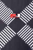High Angle View Of Car On Intersecting Pedestrian Crossings 11115050949| 写真素材・ストックフォト・画像・イラスト素材|アマナイメージズ