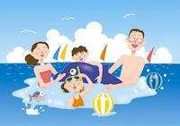 海水浴 28144080096| 写真素材・ストックフォト・画像・イラスト素材|アマナイメージズ