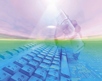キーボードと携帯電話のCGイメージ 28144093937| 写真素材・ストックフォト・画像・イラスト素材|アマナイメージズ