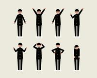 学ランの男子(いろいろな感情) 60000000128| 写真素材・ストックフォト・画像・イラスト素材|アマナイメージズ