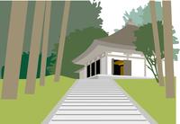 平泉の中尊寺金色堂 60009000049| 写真素材・ストックフォト・画像・イラスト素材|アマナイメージズ