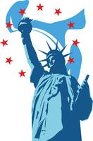 アメリカの自由の女神 60009000307| 写真素材・ストックフォト・画像・イラスト素材|アマナイメージズ