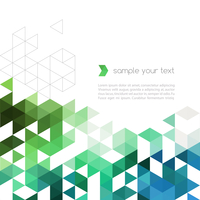 Abstract technology background with color triangle shapes. Vector illustration. 60016000066| 写真素材・ストックフォト・画像・イラスト素材|アマナイメージズ