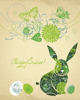 Background with Easter Rabbit  60016001194| 写真素材・ストックフォト・画像・イラスト素材|アマナイメージズ
