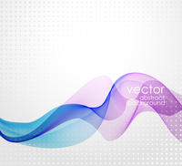 Vector illustration Abstract background with wave 60016001498| 写真素材・ストックフォト・画像・イラスト素材|アマナイメージズ
