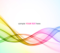 Abstract colorful vector template waved background. EPS10 60016001501| 写真素材・ストックフォト・画像・イラスト素材|アマナイメージズ