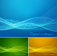 Shiny color waves vector backgrounds 60016001518| 写真素材・ストックフォト・画像・イラスト素材|アマナイメージズ