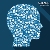 Science areas icons set in human head shape open your mind concept vector illustration. 60016001688| 写真素材・ストックフォト・画像・イラスト素材|アマナイメージズ