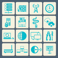 Network data security web control technology flat button icons set isolated vector illustration 60016001759| 写真素材・ストックフォト・画像・イラスト素材|アマナイメージズ