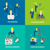 Civil professional mechanical science engineering concept flat business icons set of manufacturing management worker for infogra 60016002939| 写真素材・ストックフォト・画像・イラスト素材|アマナイメージズ