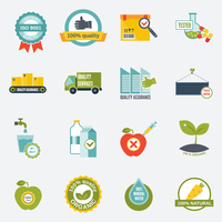 Quality control certified quality test services icons flat set isolated vector illustration 60016003939| 写真素材・ストックフォト・画像・イラスト素材|アマナイメージズ