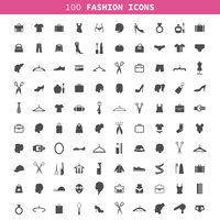 Collection of icons on a theme a fashion and clothes. A vector illustration 60016004117| 写真素材・ストックフォト・画像・イラスト素材|アマナイメージズ
