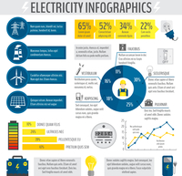 Electricity energy accumulator industry infographic template with charts graphs and diagrams vector illustration 60016004173| 写真素材・ストックフォト・画像・イラスト素材|アマナイメージズ
