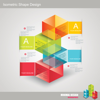 Modern Design template isometric style. Can be used for workflow layout; diagram; number options; step up options; web design; b 60016005345| 写真素材・ストックフォト・画像・イラスト素材|アマナイメージズ