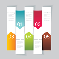 Modern Design template vertical banners. Can be used for workflow layout; diagram; number options; step up options; web design;  60016005362| 写真素材・ストックフォト・画像・イラスト素材|アマナイメージズ