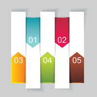 Modern Design template vertical banners. Can be used for workflow layout; diagram; number options; step up options; web design;  60016005476| 写真素材・ストックフォト・画像・イラスト素材|アマナイメージズ
